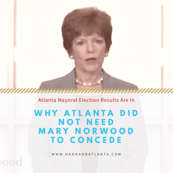 Why Atlanta Did Not Need Mary Norwood to Concede